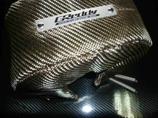 TRUST チタンターボブランケット タービン エキゾーストハウジングカバー T78 T88 タービン用 遮熱板