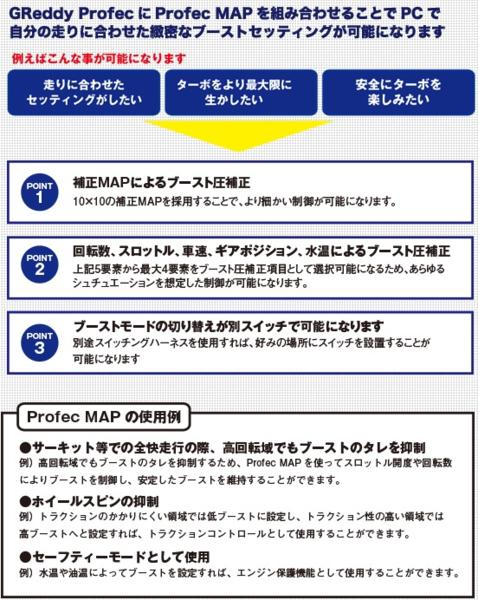 TRUST プロフェック ブーストコントローラー Profec MAP付 TRUST