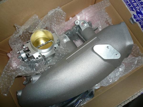 TRUST サージタンク&大径スロットル 新品 S14 S15 シルビア♪